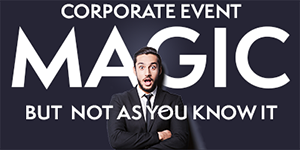Corporate Magic button image link